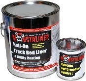 Monstaliner Roll-On Truck Bedliner Gallon with Catalyst