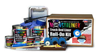 Monstaliner 2 Gallon Roll-On Bedliner Kit
