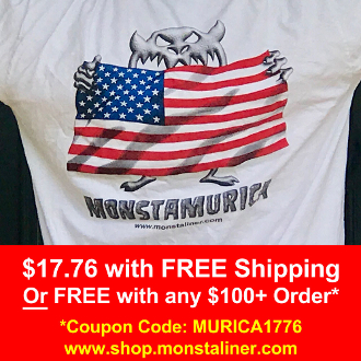 MONSTAMURICA T-SHIRT