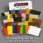 Monstaliner Complete Color Chip Set (45)
