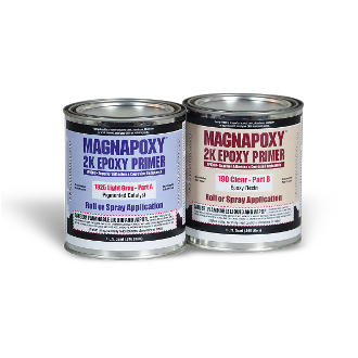(2 Quart Kit) MAGNAPOXY™ 2K Epoxy Primer, Lt Gray