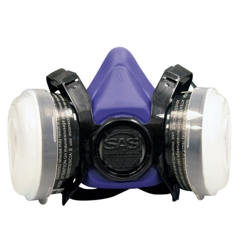 Half Face Dual Cartridge Respirator - Lg